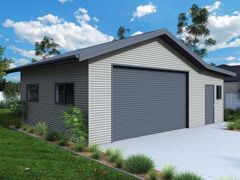 Sheds And Garages With Eaves Sydney Ranbuild Sydney